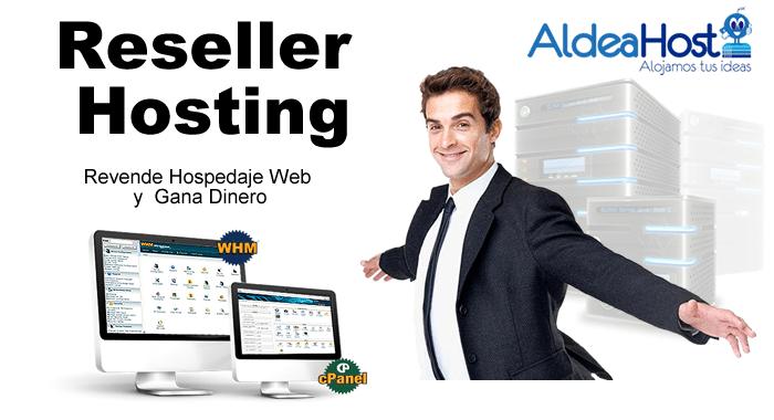 Reseller hosting En Mexico con Aldeahost Web Hosting