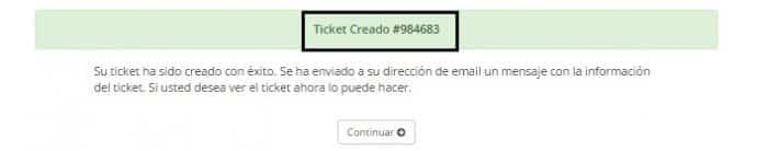 Crear Un Ticket De Soporte o Consulta Web Hosting