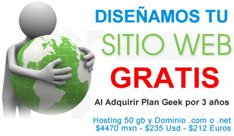 Diseño de paginas web Gratis Web Hosting