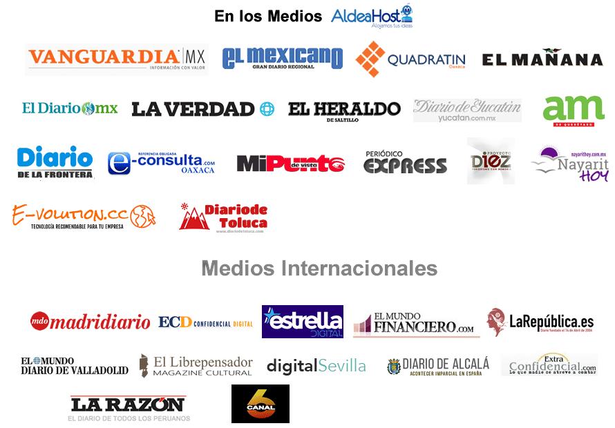 Aldeahost en Los medios Web Hosting